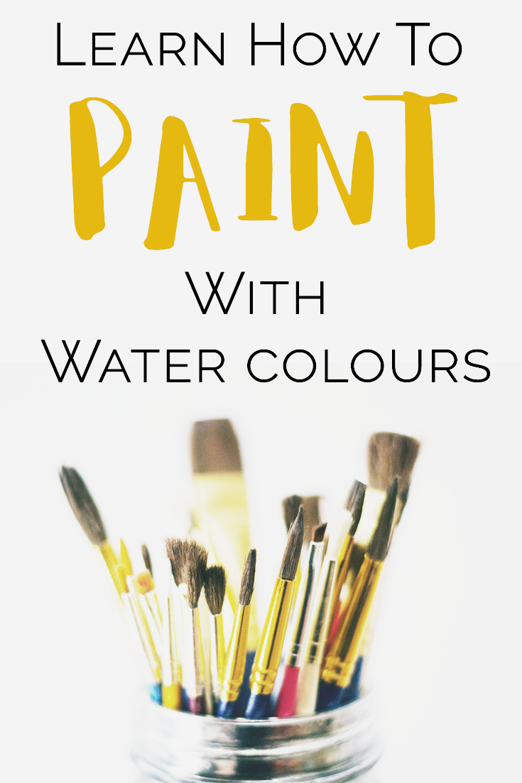 learn how to paint with watercolours