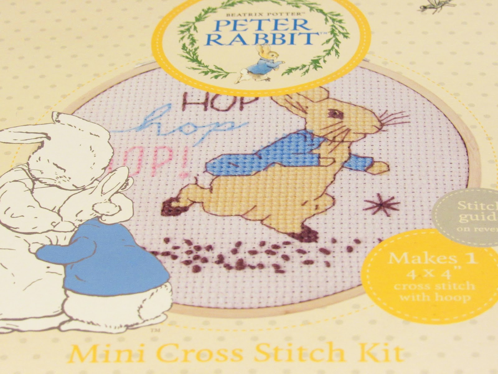 Peter rabbit cross stitch