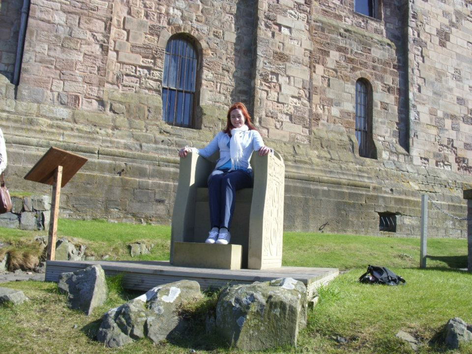 Bamburgh Castle Throne