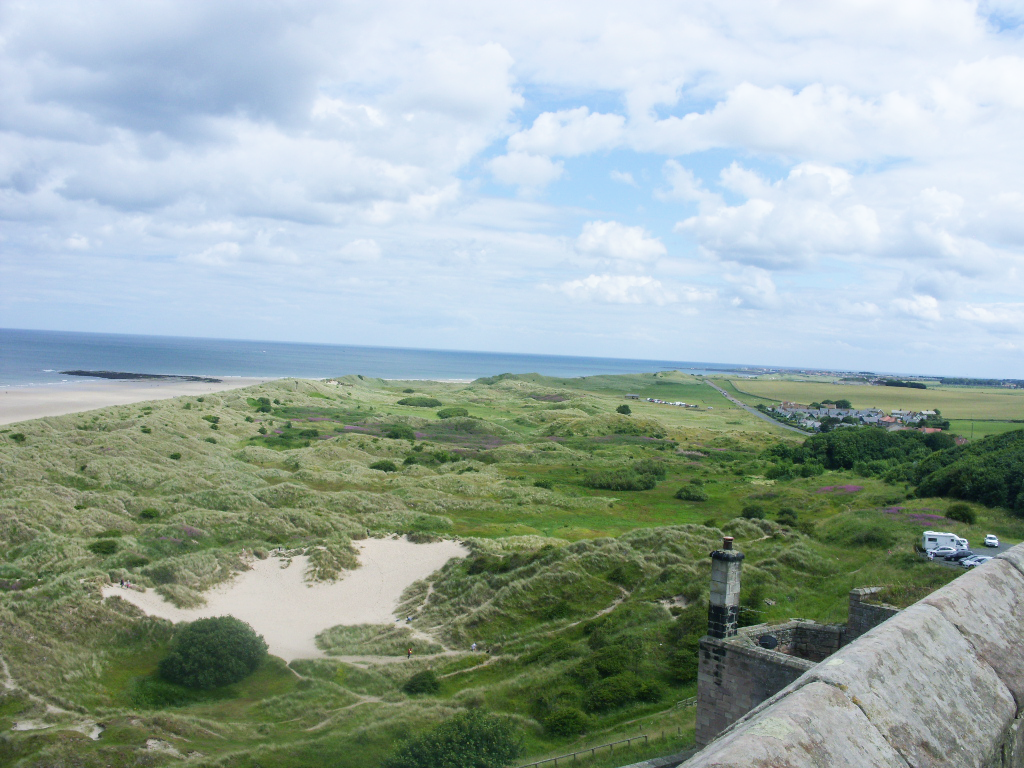 Bamburgh Castle Views