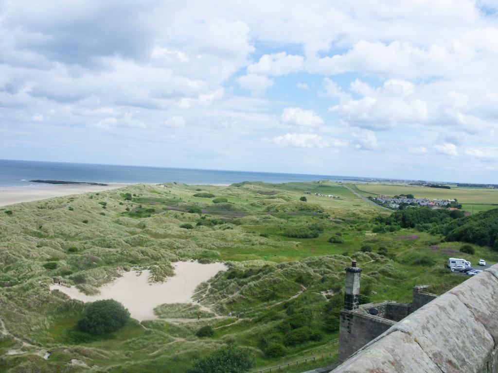 Bamburgh Castle Views