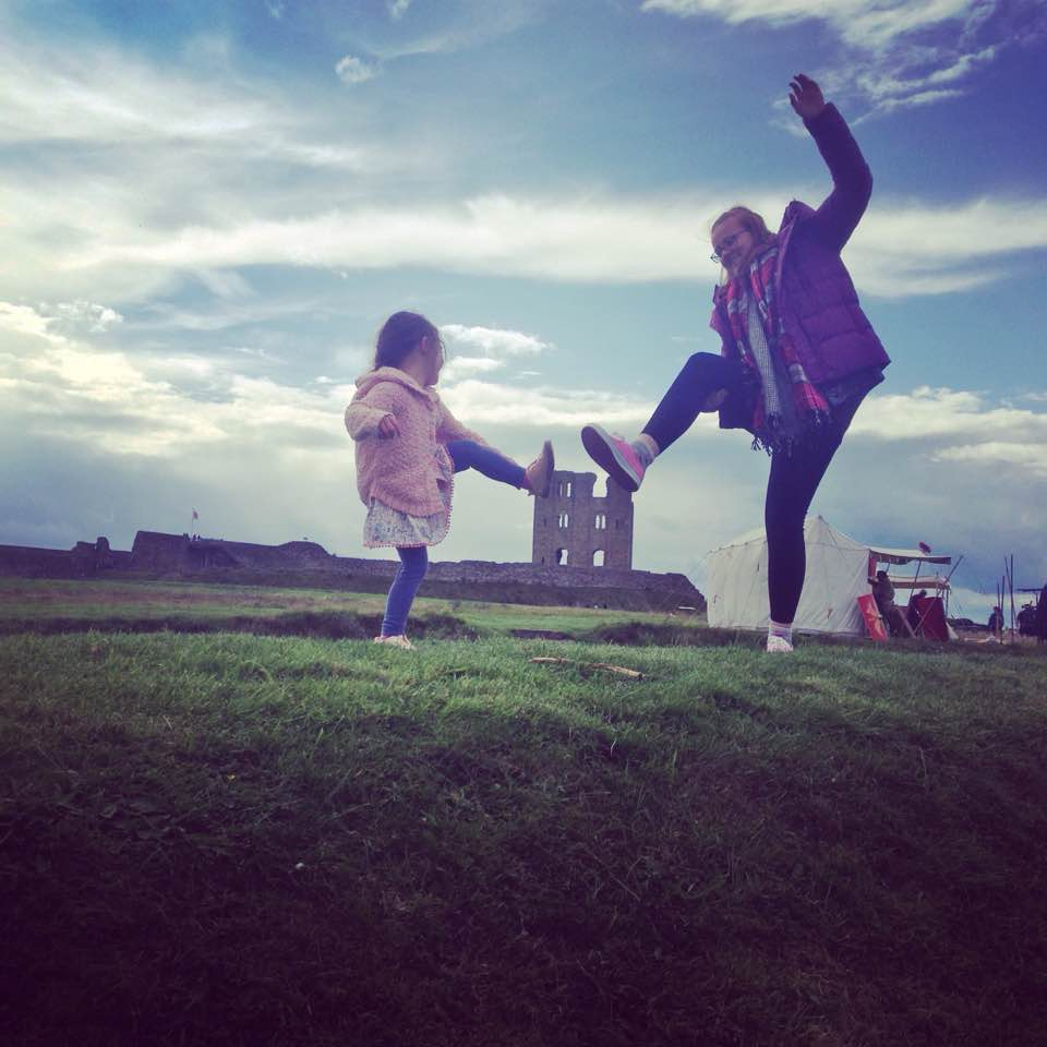 Scarborough Castle Family Fun